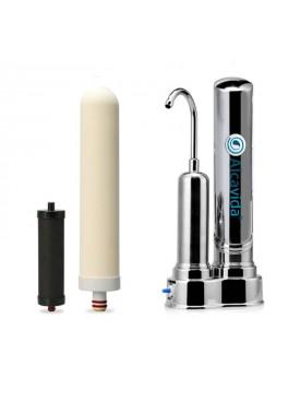 Filtro de recambio filtro ionizador para el grifo Alcavida,
