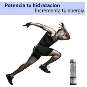 beneficios de beber agua hidrogenada en el deporte