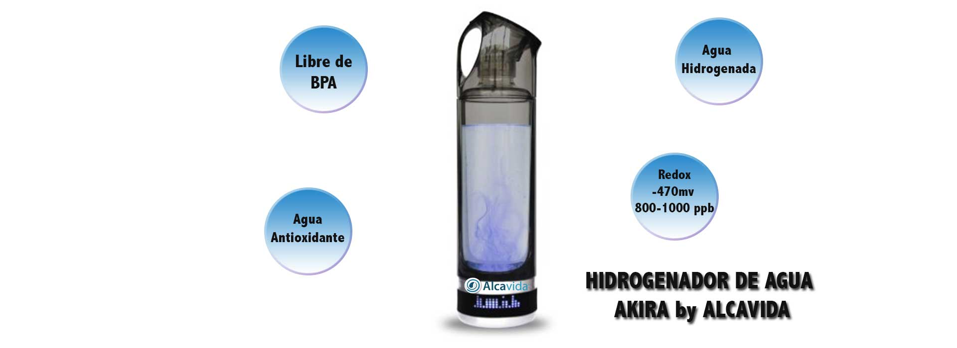 Hidrogenador agua-agua hidrogenada
