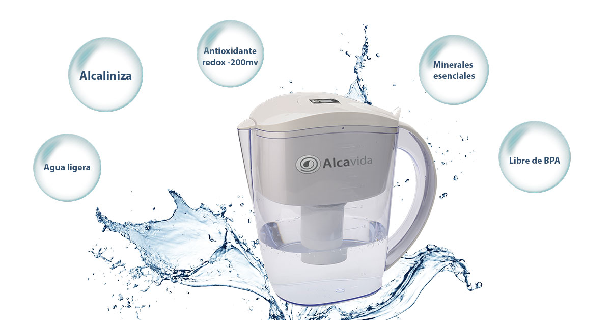 jarra agua alcalina optima 350